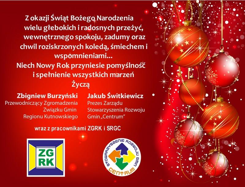 Życzenia świąteczne 2013/2014